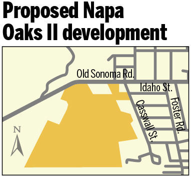 Proposed Napa Oaks II development
