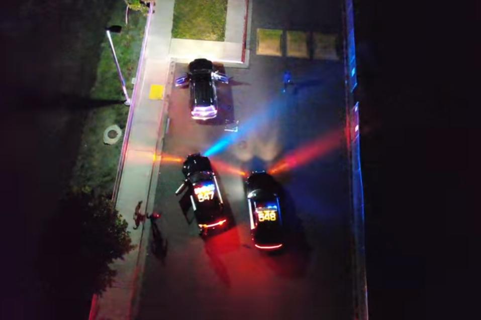 Napa County Sheriff's Office drone shot