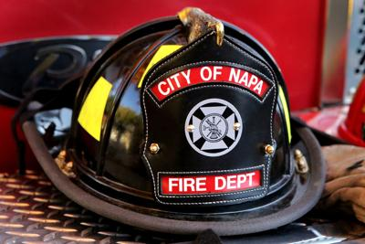 Napa Fire Department Helmet logo