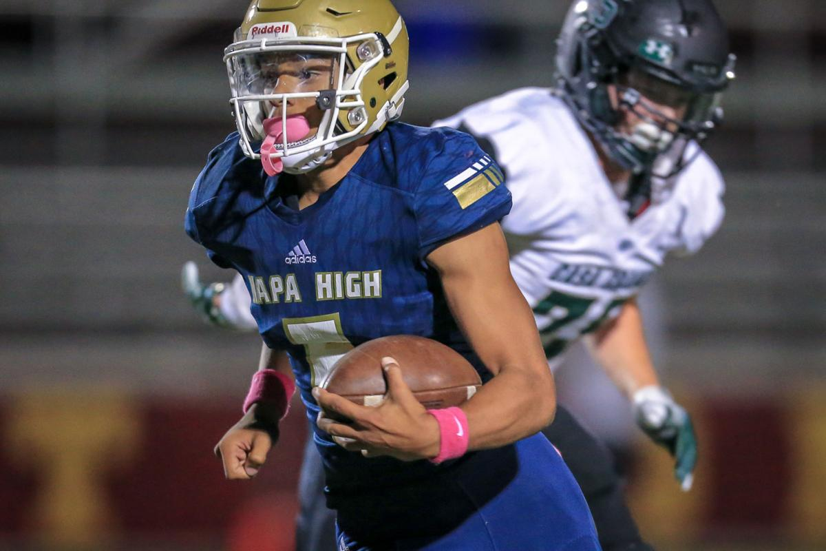 Napa High vs. Casa Grande football
