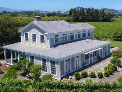 NapaStat   $5.5 million: That's the price of the two most expensive homes sold in Napa County in October. One of the homes, pictured here, is located at 5224 Big Ranch Road.