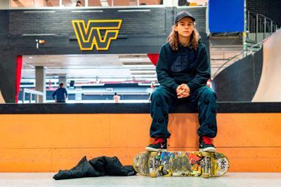 OLY Swedish Skateboarding Hopeful