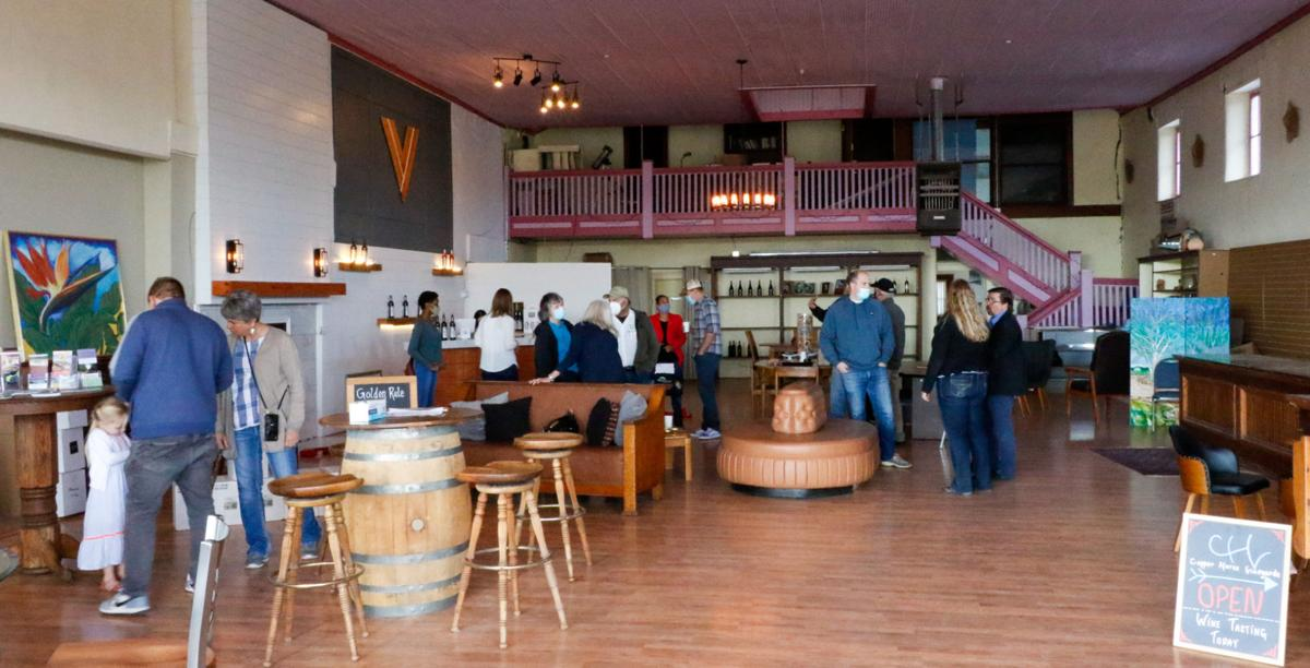 Willcox Commercial Building tasting rooms