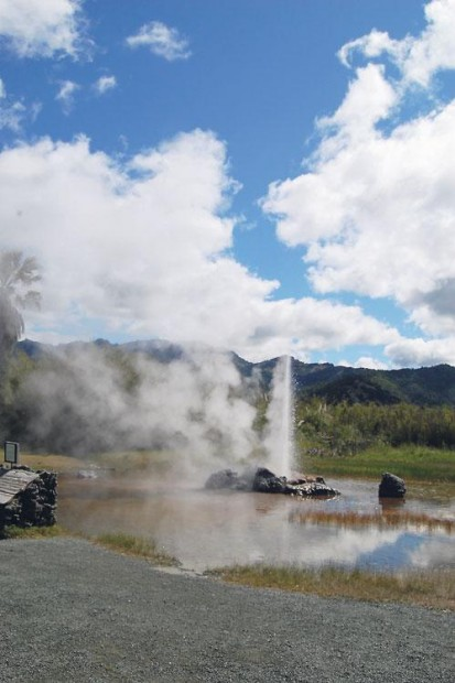 Calistoga's Old Faithful Geyser is site for USGS studies