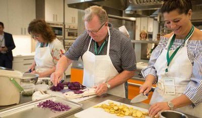CIA at Copia Cooking Class