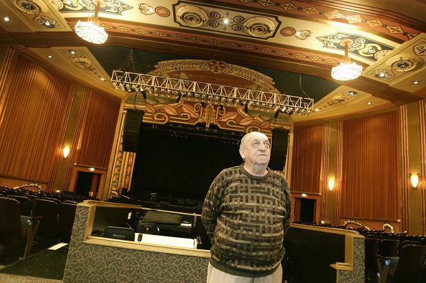 George Altamura and the Uptown Theatre