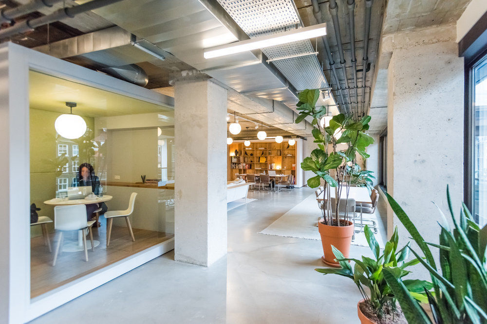 """Spaces will open a coworking """"hub"""" at First Street Napa in downtown Napa in the former McCaulou's building."""