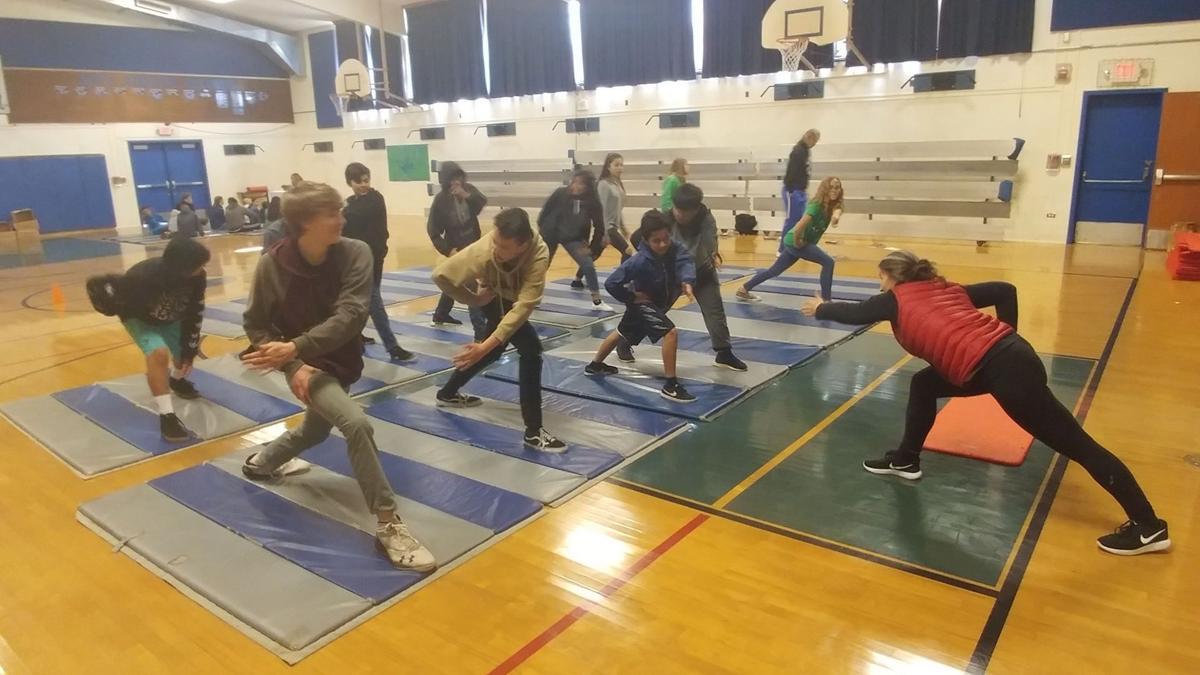 Yoga at RLS Middle School