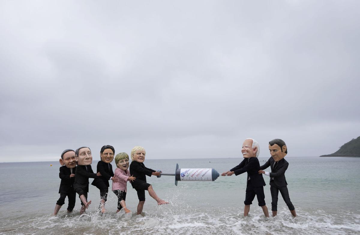 APTOPIX Britain G7
