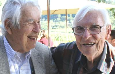 Harold Kelly and Duane Cronk