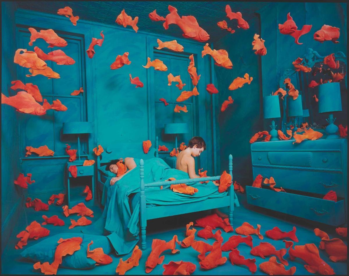 Revenge of the Goldfish, 1981, © Sandy Skoglund