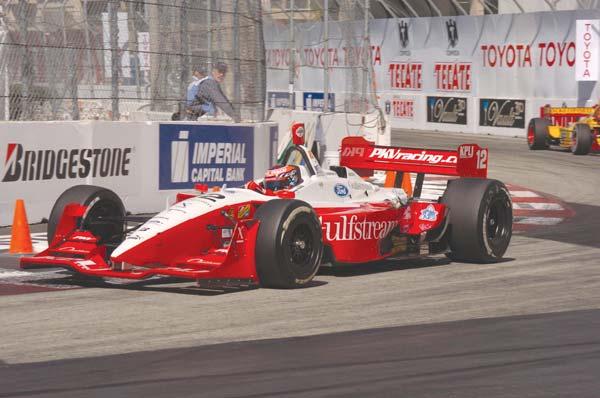 Vasser getting behind wheel at LBC
