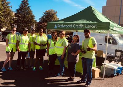 Redwood Credit Union hosted at free Shred-a-Thon on June 29.