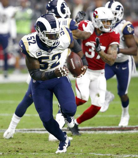 AP source: Rams trade LB Alec Ogletree to Giants for 2 picks