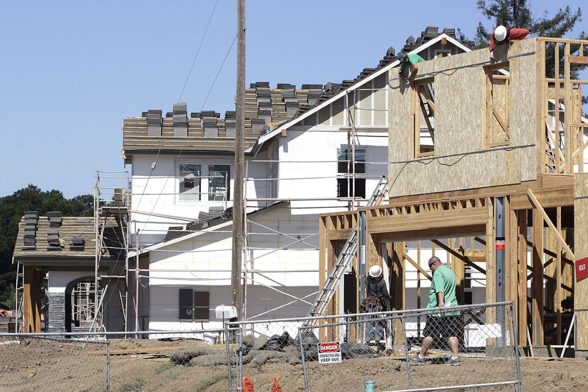 Home construction in Napa