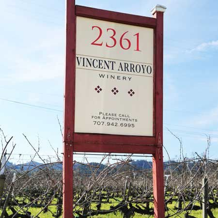 Vincent Arroyo winery