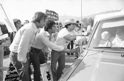 Gil Gerard,  Erik Estrada,  Robert Blake