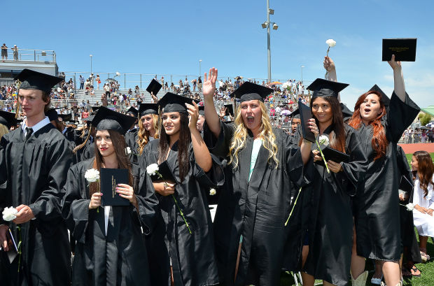 American Canyon High Celebrates Its First Graduates-6889