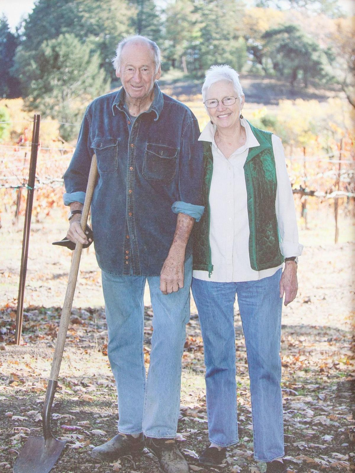 John Gantner and Nancy Walker, School House Vineyard