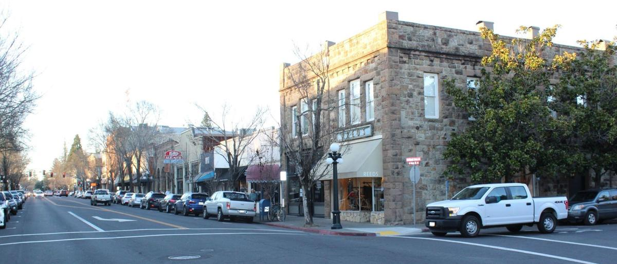 A Snapshot Of Downtown St Helena At The Beginning Of 2018 St