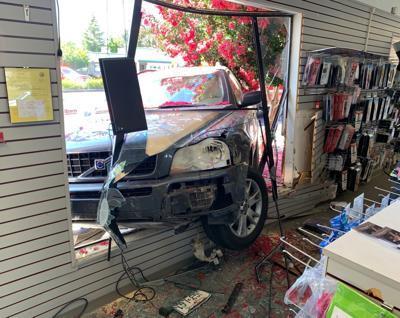 Piner's Medical Supply car crash