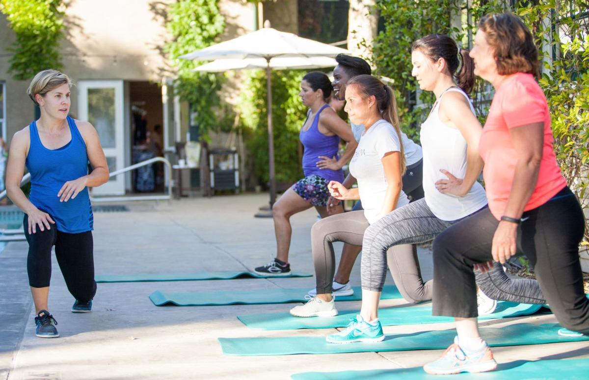 Personal trainer Leah Heil, Napa Valley Health Spa