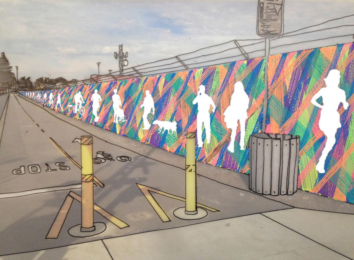 Art proposal for Napa city corporation yard