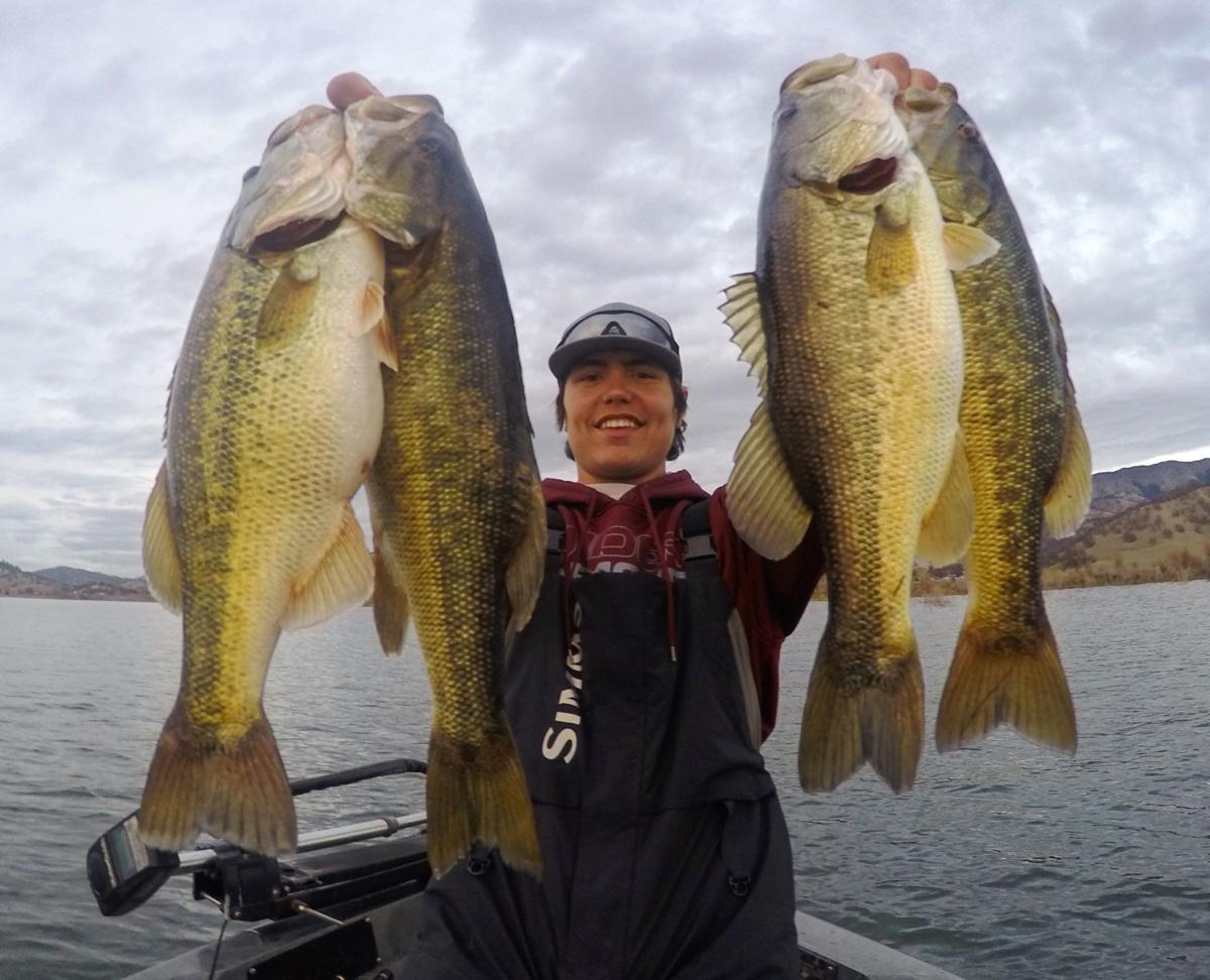 The fishing report bass biting just fine for lipanovich for Lake hennessey fishing