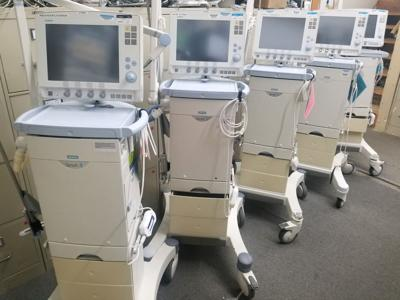 Napa Valley College ventilators