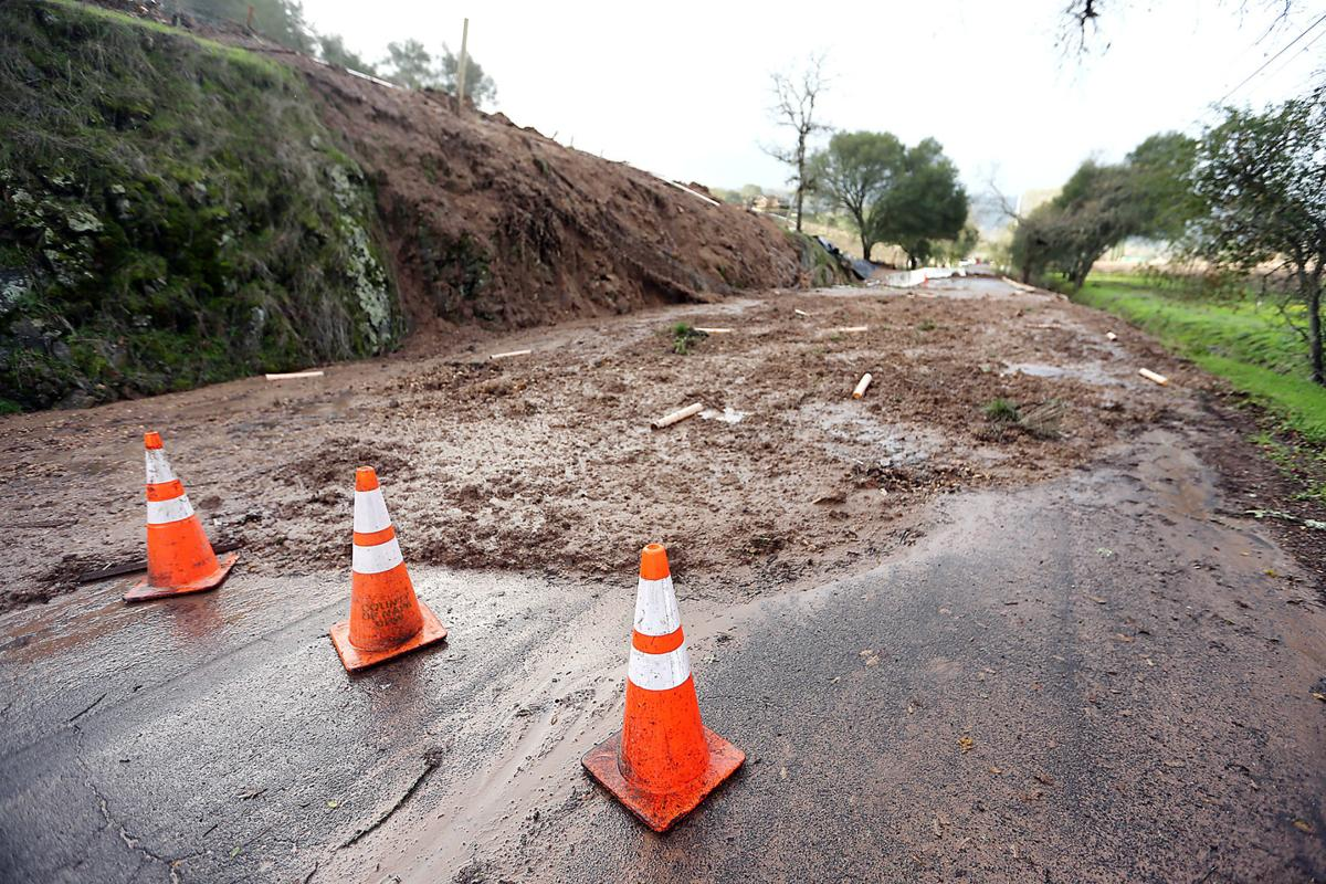 Yount Mill Road slide