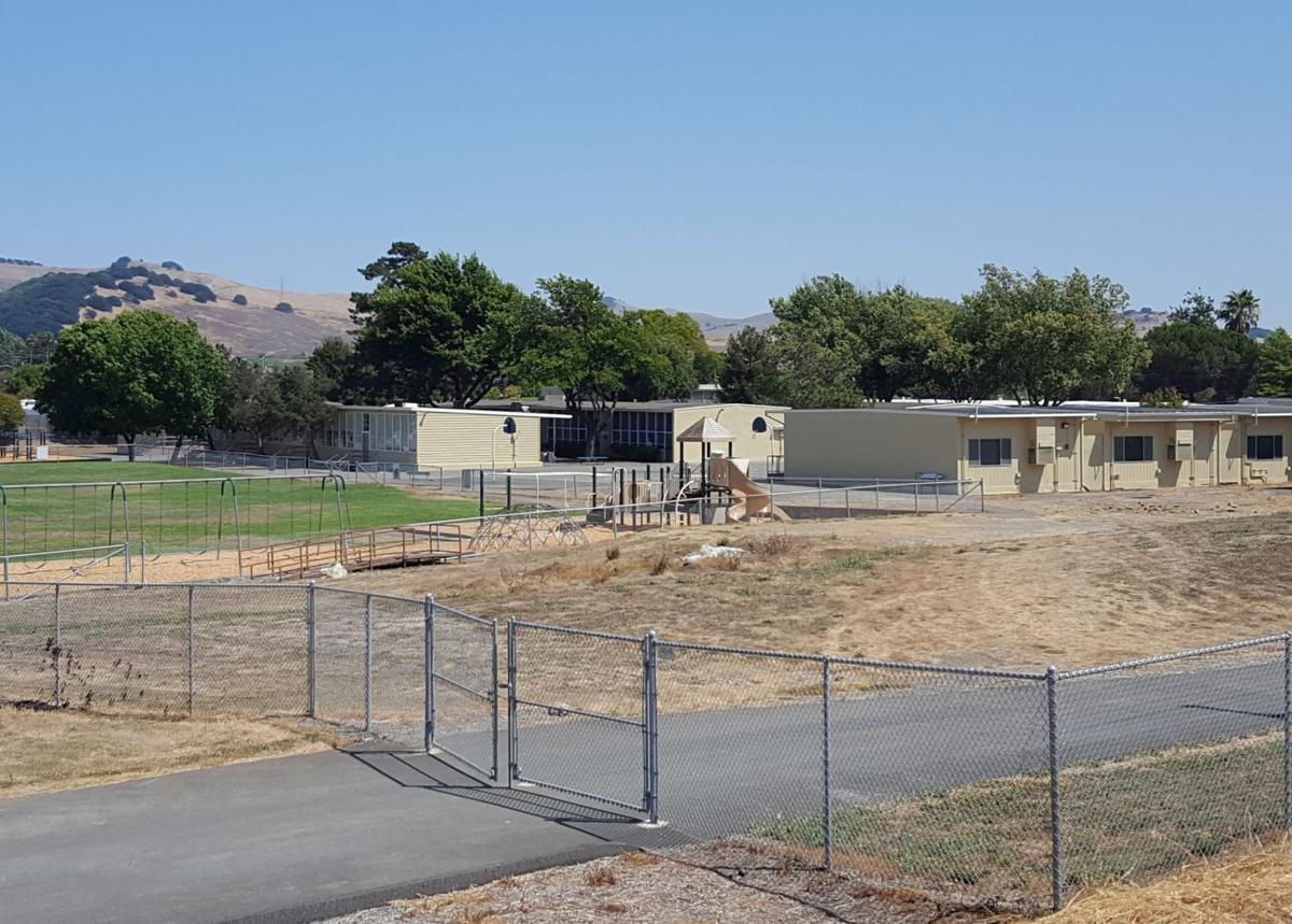 Napa Junction Elementary School backview