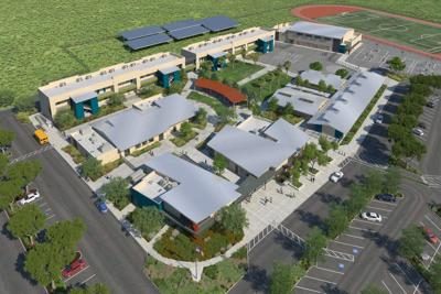New American Canyon Middle School rendering