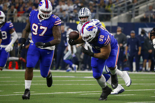 Trick TD sparks Bills in 26-15 Thanksgiving win over Cowboys