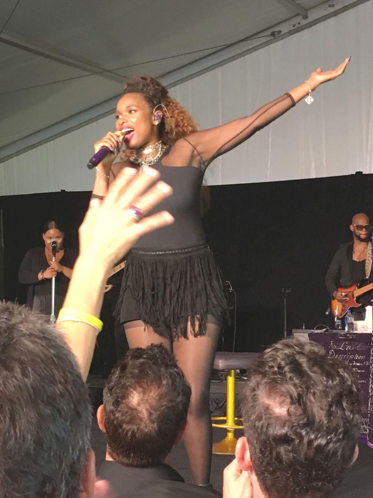 Soul singer Jennifer Hudson