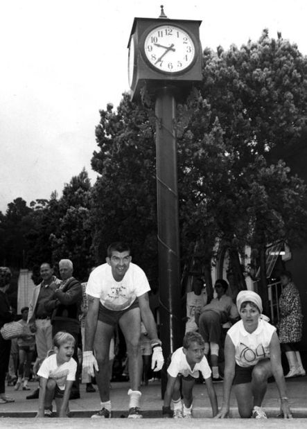 Boitano family at the 1968 Dipsea Race