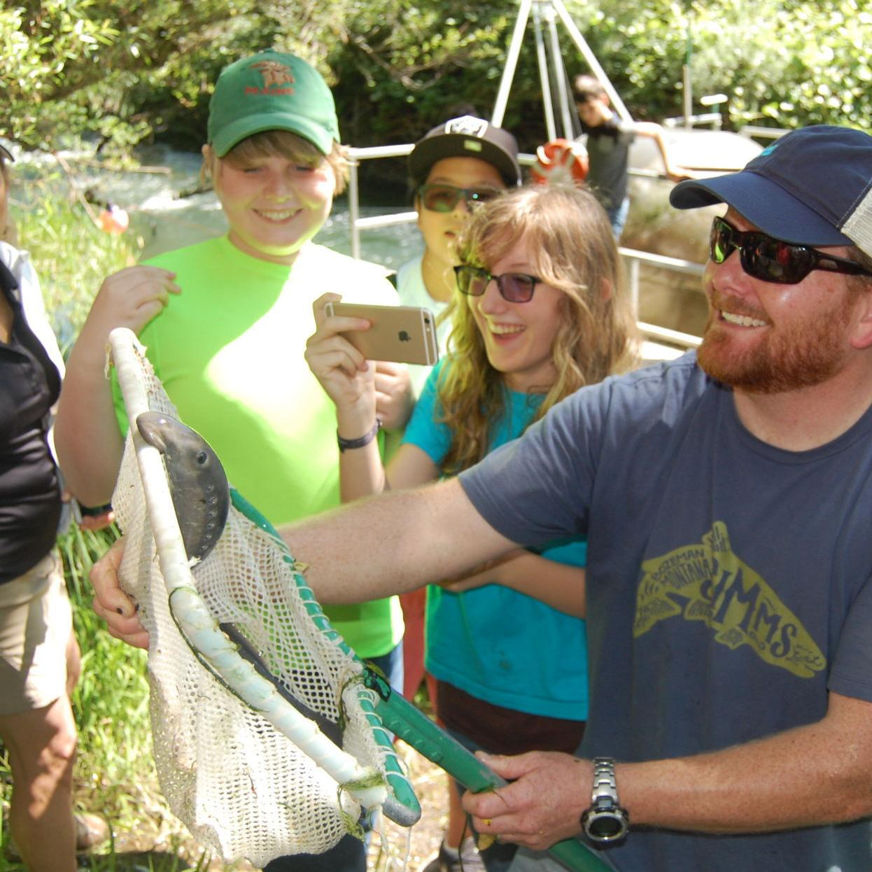 Following a wet winter, Napa River fish trap yields high