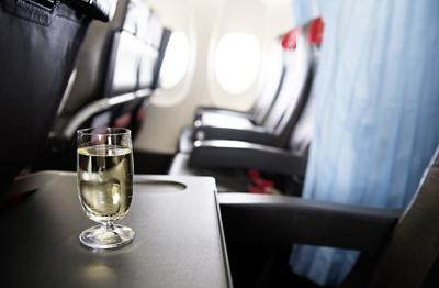Flying and drinking alcohol