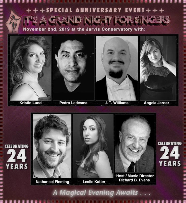 November 2nd - It's A Grand Night For Singers!