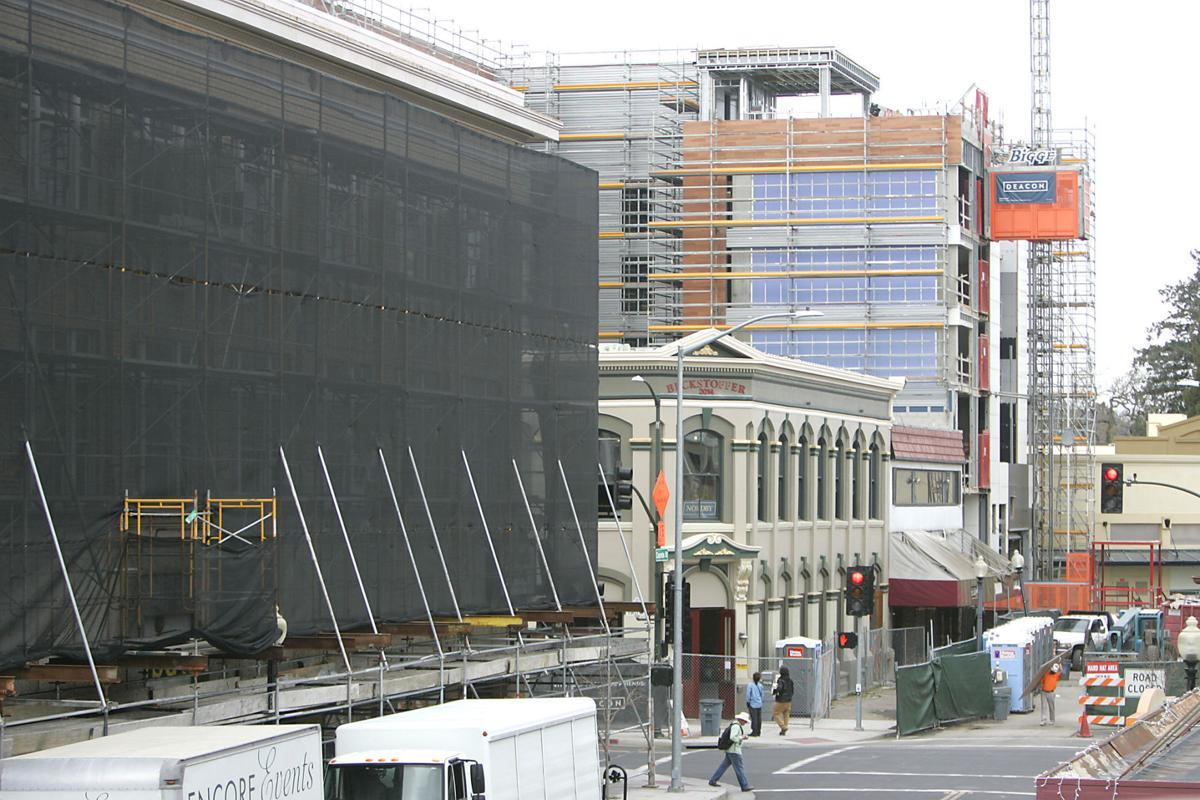 Archer Hotel under construction