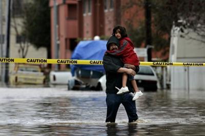 Severe flooding hits Napa Valley