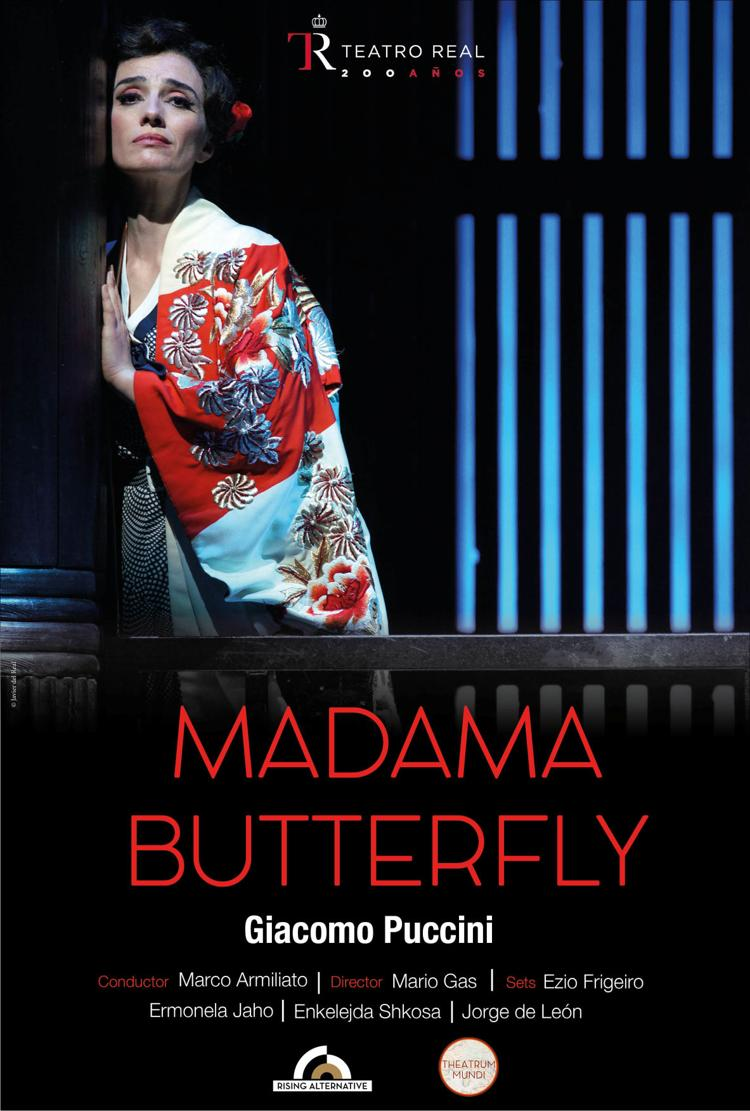 Poster:  Madama Butterfly - Teatro Real