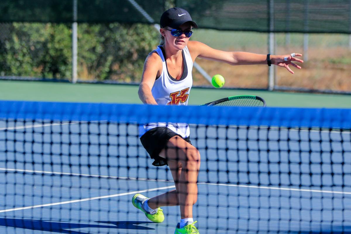 Big Game Varsity Girls Tennis, Vintage vs. Napa