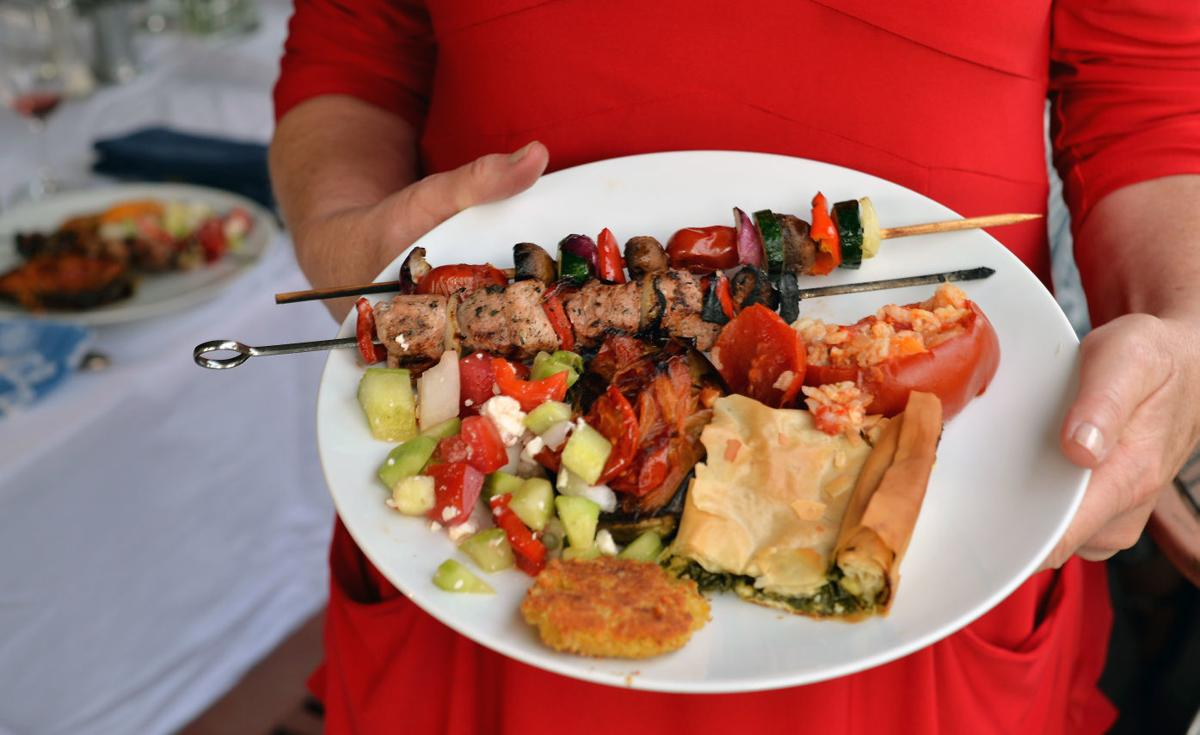 Food from Tiny Greek Islands