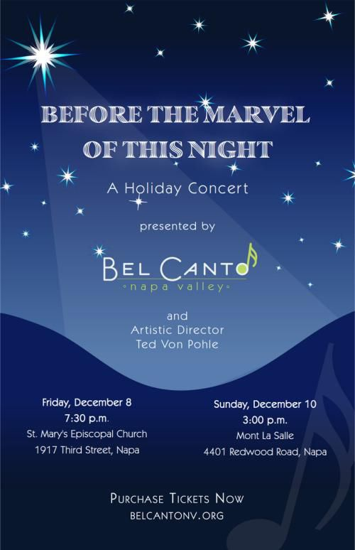 BEL CANTO Holiday Concert 2017