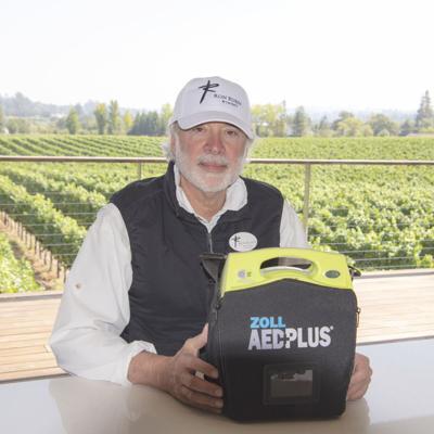 Sebastopol's Ron Rubin of Ron Rubin Winery