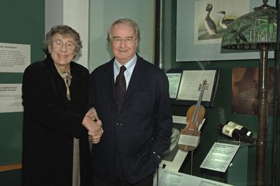 Barbara and Warren Winiarski