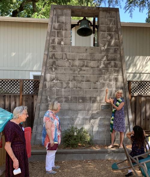 Bell ringing at St. Luke's Episcopal Church