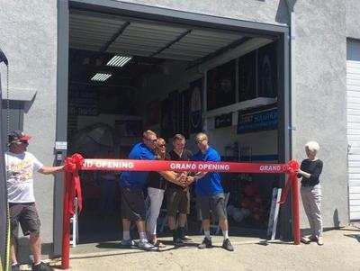 Ian Cordle, owner of Dent Solution, along with family, friends, employees, customers and other local business owners, celebrated the grand opening of a new location on June 8.