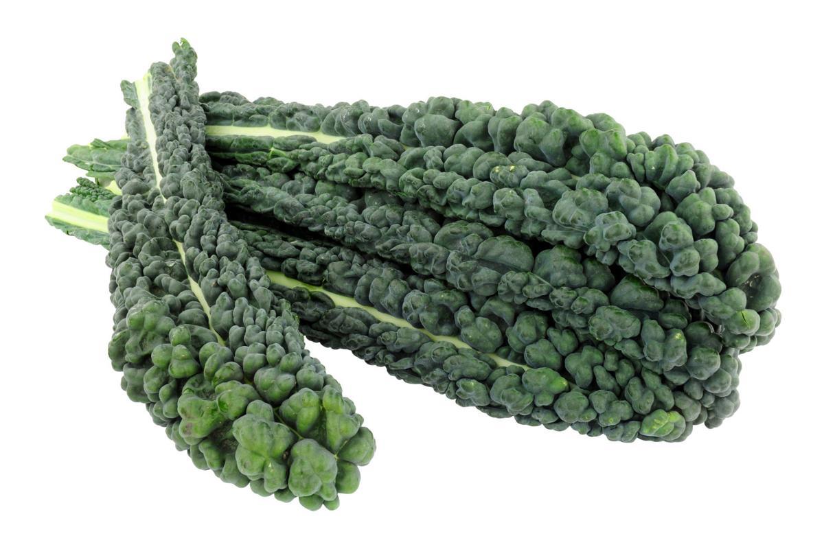 Cavolo Nero kale leaves