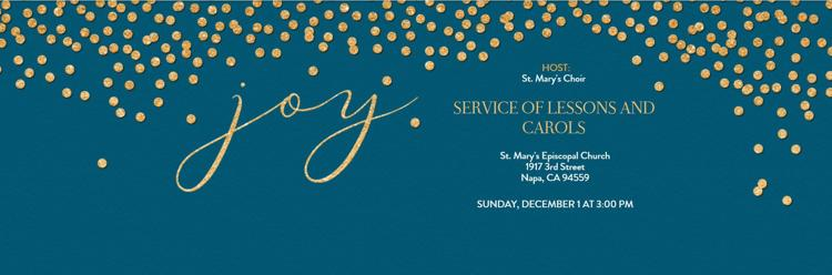 Service of Lessons & Carols
